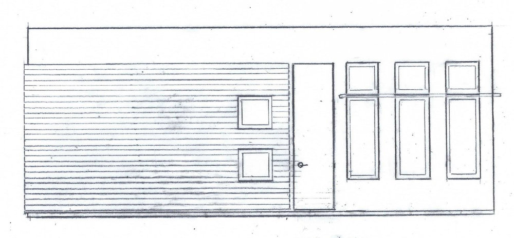 Basic design of our Tiny House!
