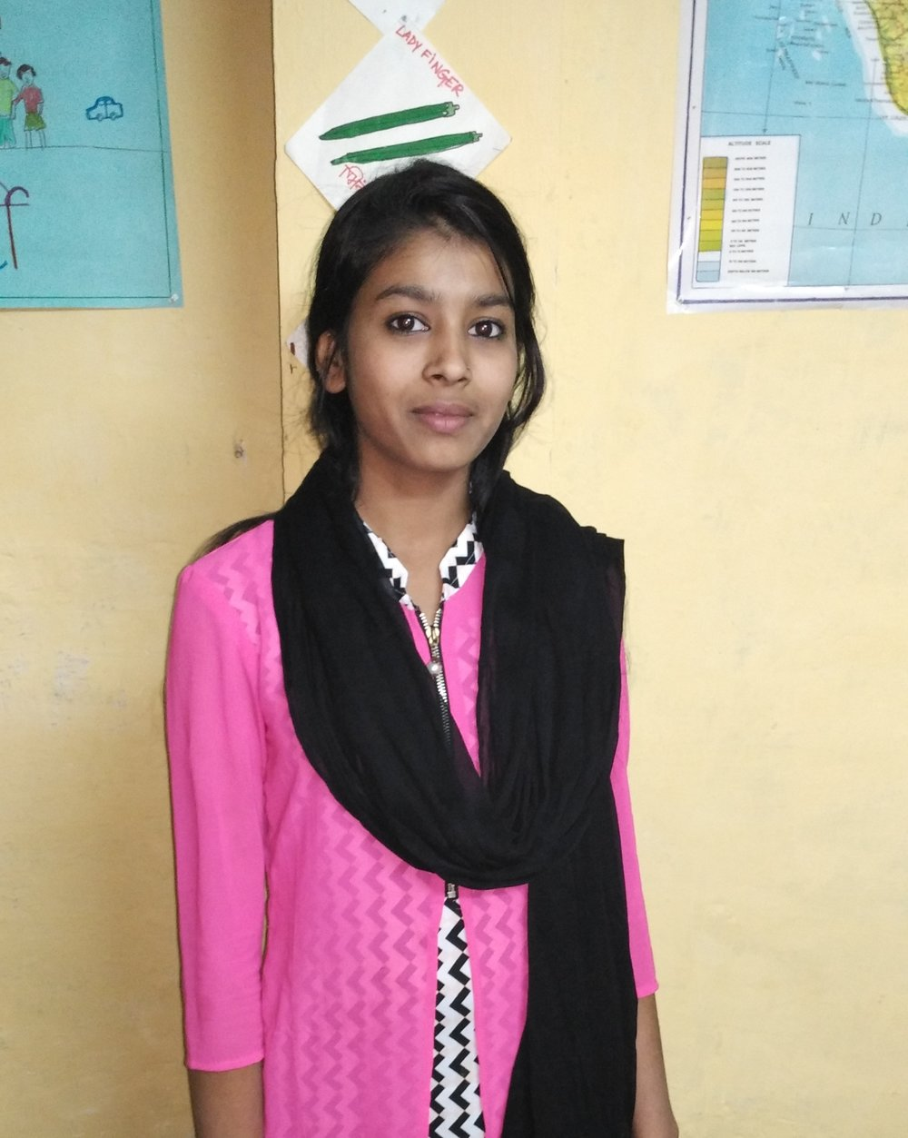 "Huma - Huma is 15 years old and studies in class 9. She has been working with TYPF since 2012. In 2013, Huma was a leader in a project called ""Aas Paas ki Saphaai"" (Cleaning our surroundings), which was run in her community. Since 2014, Huma has been a Youth Leader in TYPF's Blending Spectrum programme. She has been part of various programmes run by TYPF in her own community. She has also facilitated sessions on Life Skills with the other Youth Leaders."