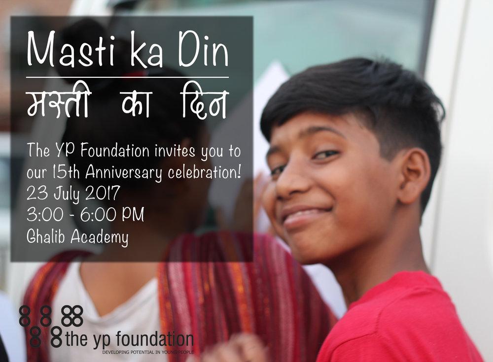 Masti ka Din: TYPF turns 15!