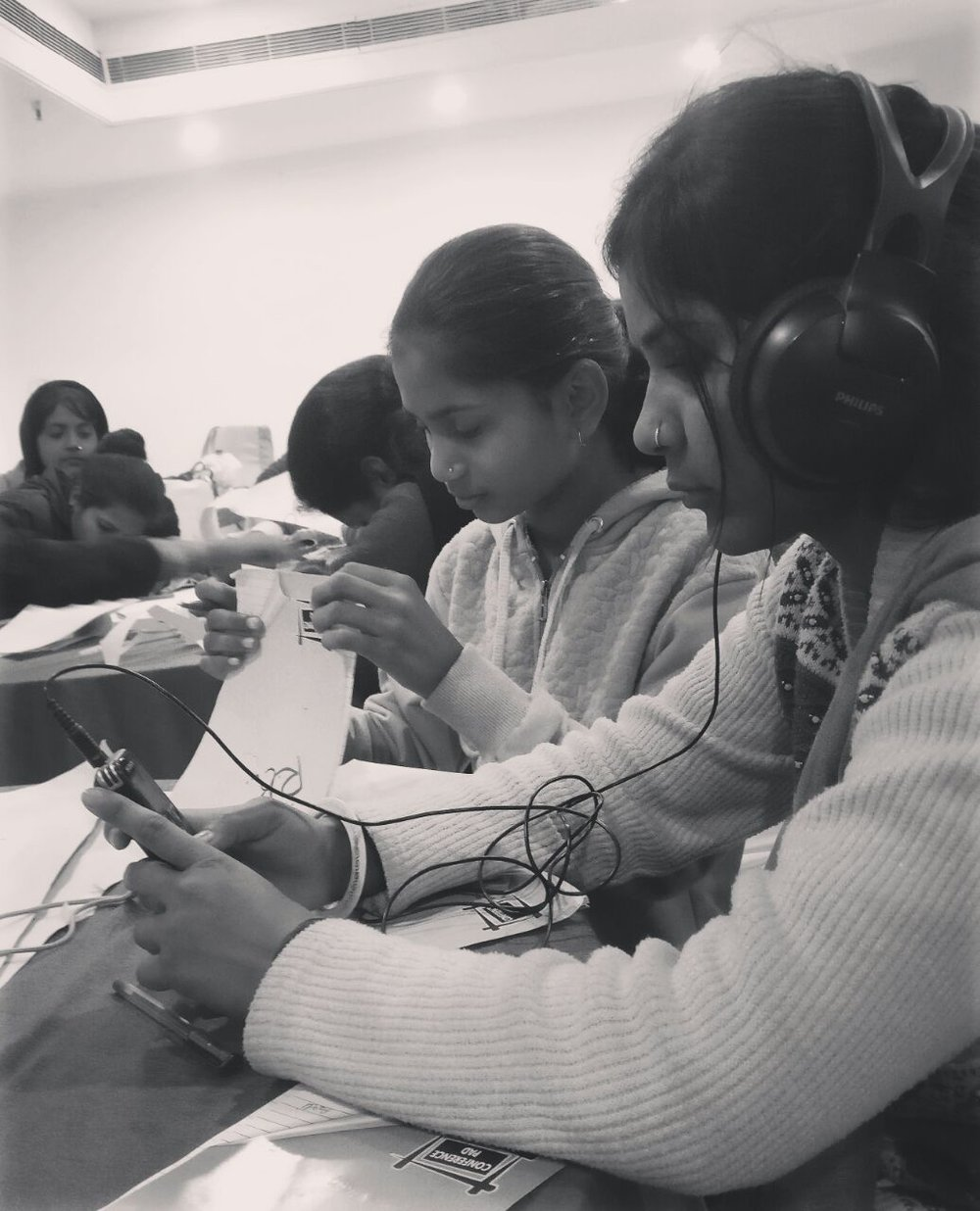 The Butterfly Project Curriculum driven programme on enabling young women from marginalised communities in low-resource settings to creatively address gender & discrimination through digital media.