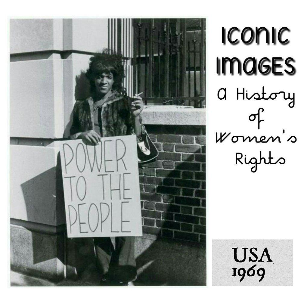Marsha Johnson, USA 1969 - Submitted by Anushka Aqil from the US:Marsha
