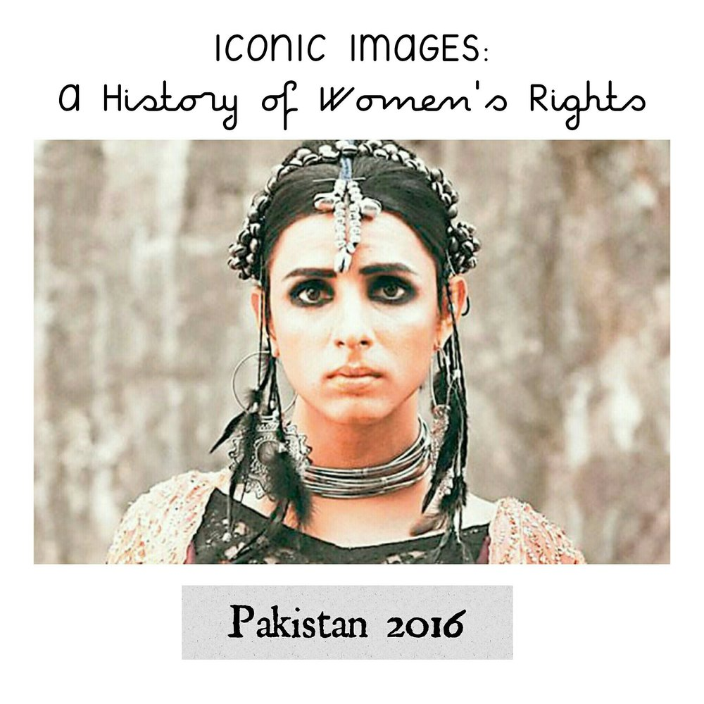 Pakistan's First Transgender Model, 2016 - Submitted by Anushka Aqil from Pakistan:In 2016, Kami Sid made her debut as the Pakistan's first Khawaja Sara (transgender) model. While modelling is what brought Kami nation-wide visibility, her work as an activist for gay and transgender rights in Pakistan has been on-going and influencing culture for much longer. Khawaja Saras have been a part of the South Asian continent's history since the beginning of time, yet, transgender individuals continue to face extreme discrimination and have to fight to survive. Kami's photo shoot is one step on the way to increase positive visibility and acceptance, but we have a long way to go.