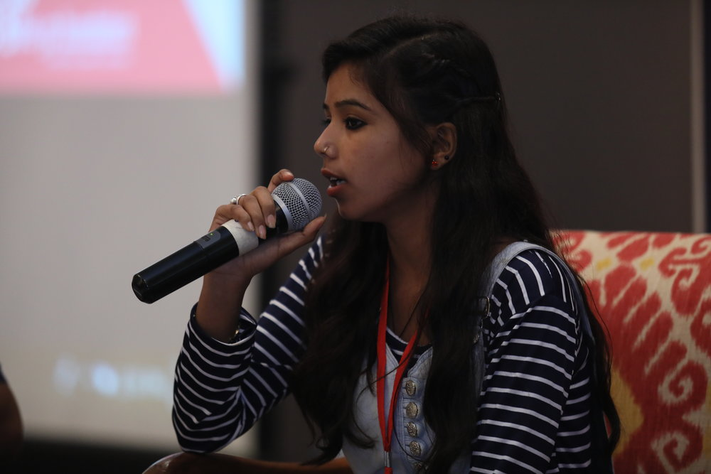 Tulsi, 20: Pali - I started my journey with The Butterfly Programme in 2015. I got important information on sex, sexuality, gender, body anatomy and puberty, which I shared with other women in my community. While doing this, I was surprised to find that they didn't have correct information about their bodies either! In 2017 my father was not allowing me continue my education but I got the confidence to negotiate with him. Now, I am in the first year of my Bachelors degree!