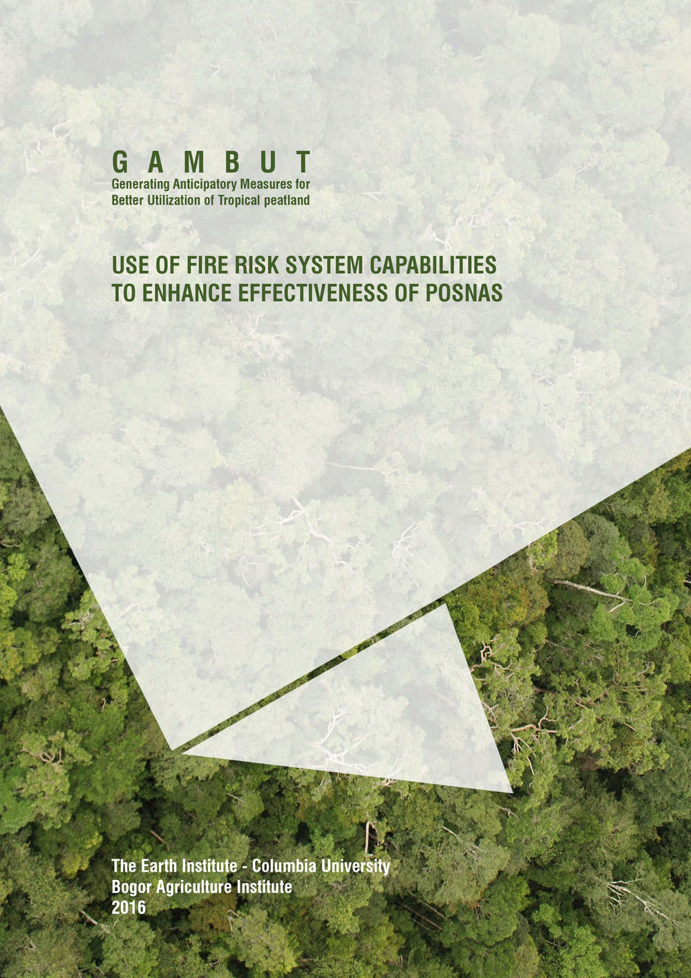 POSNAS was the former national standard operating procedure on forest and land fires. While it was abandoned in mid-2016, this report is still relevant, as provides an overview of national level peat fire management and recommendations for how the FRS and advanced early warning can improve national-level coordination around fires.  Click  here  for the Bahasa Indonesia version.