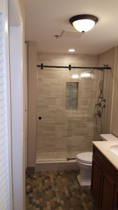 Full Bathroom Renovation in Hoboken, NJ