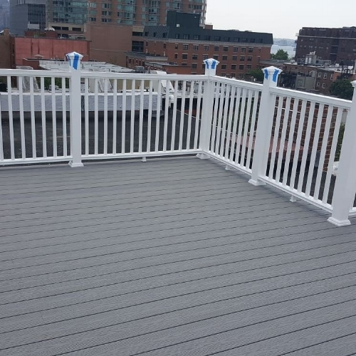 Roof Deck in Downtown Jersey City