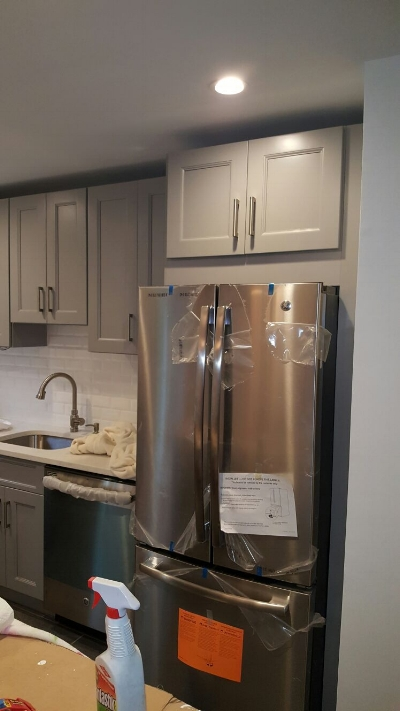 Kitchen Renovation - Appliance installation