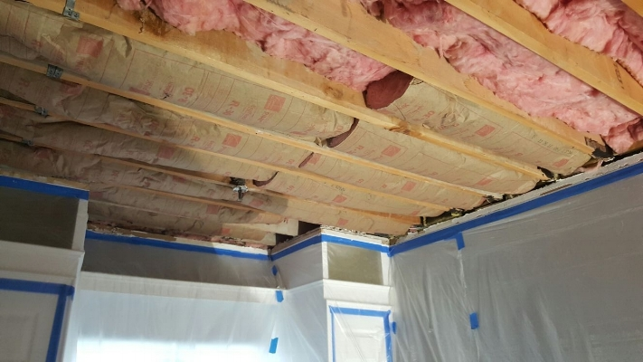 Installation of new insulation