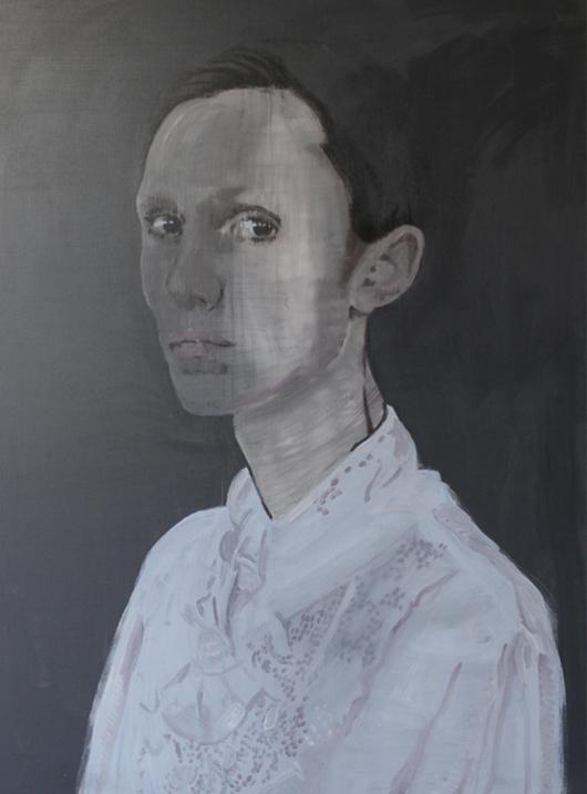 Unarmed Soul 2014 tempera op doek 200 x150 cm