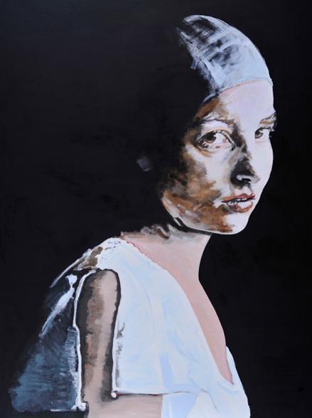 Dressed in exposure (II) schilderij op doek 200 x 150 cm
