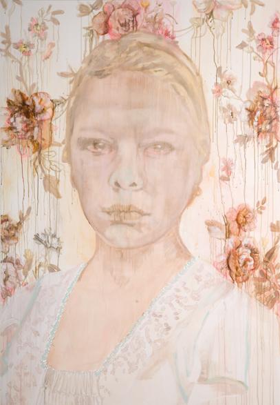 Zonder titel 2008 220 x 150 cm