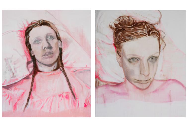 Zonder titel 2007 schilderij op doek 180 x 150 cm  Zonder titel 2007 schilderij op doek 180 x 150 cm