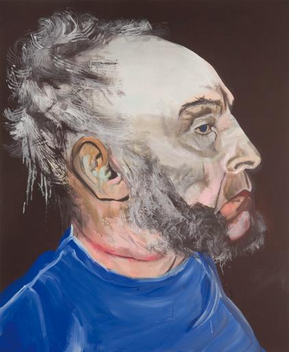 zonder titel 2007 schilderij op doek 180 x 150 cm