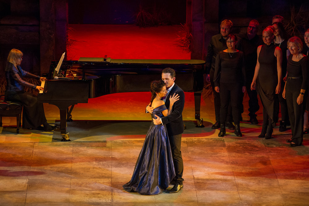 Natalie Christie Peluso in An Afternoon with Jason Barry-Smith for Opera Queensland