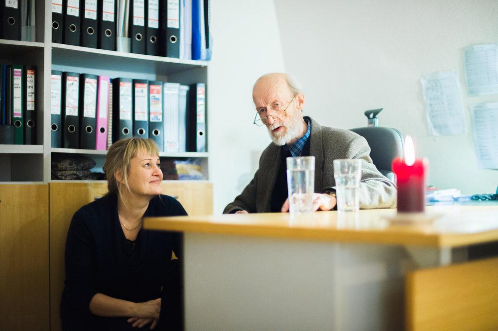 Edith Sepp koos Jaan Ruusiga