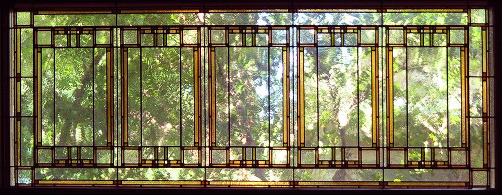 Garland window detail