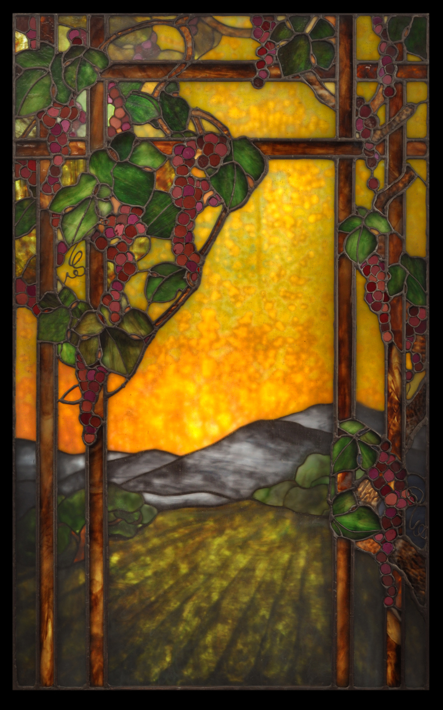 We created this plated landscape for a wine cellar at the McDonald Mansion in Santa Rosa, California.
