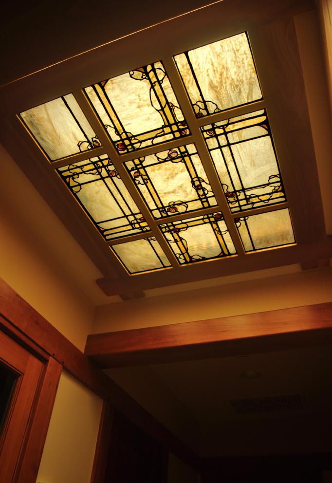 Hallway laylight.
