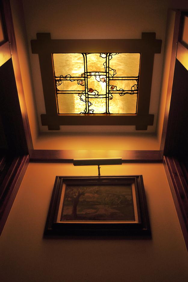 Vestibule laylight.