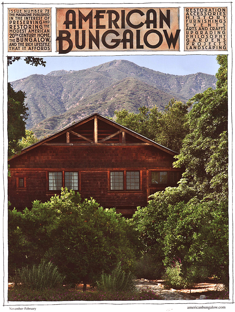 American Bungalow, Winter 2011