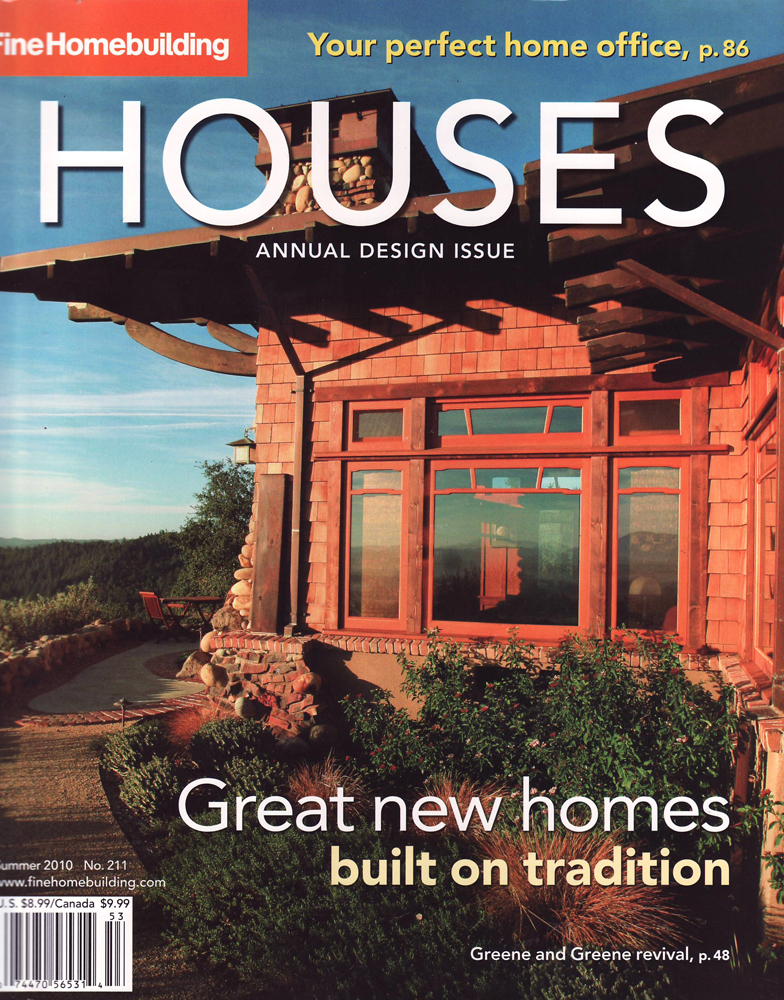 Fine Homebuilding, Summer 2010