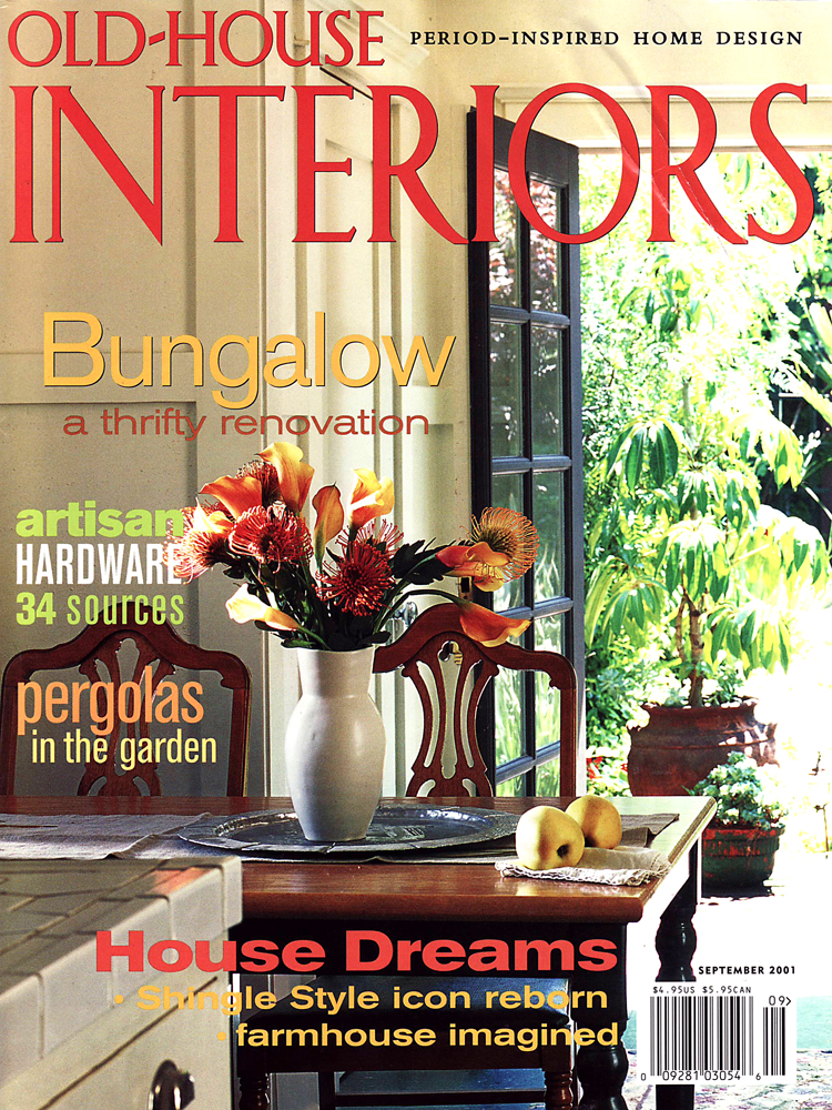 Old House Interiors, September 2001