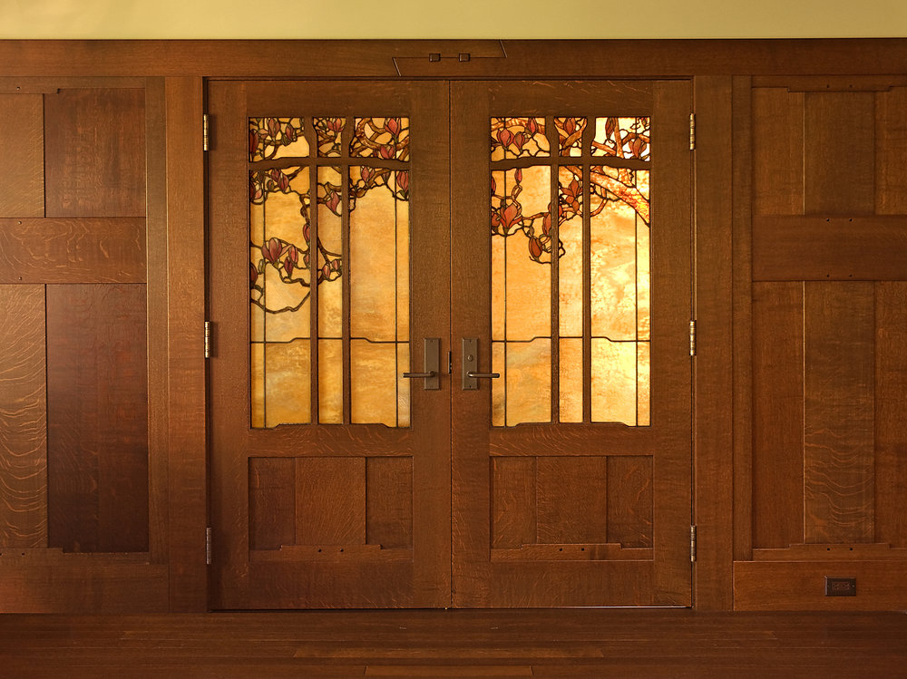 Stained Glass Doors Theodore Ellison Designs
