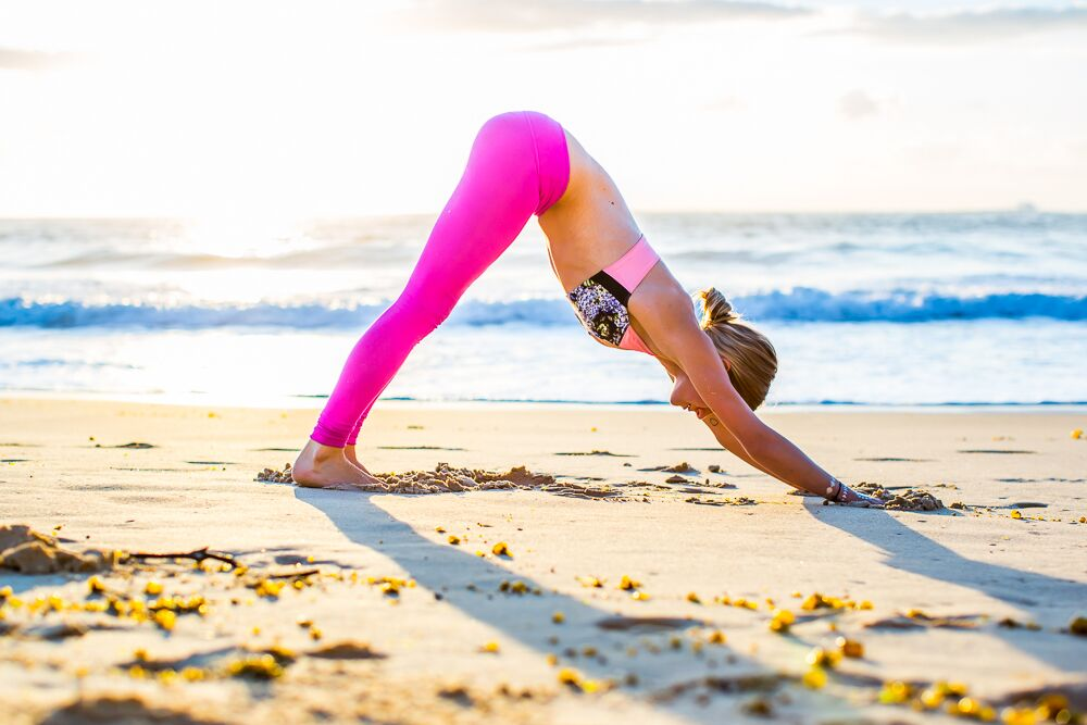 Image of yoga superstar Sammy Veall,courtesy of  yoga213.com.au