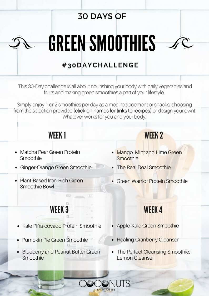 30 DAY Challenge - Green Smoothies.jpg