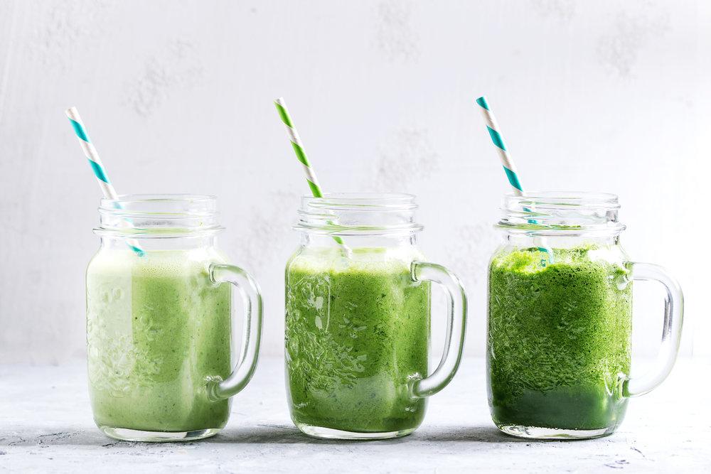 variety-of-green-smoothie-PVJFJPB.JPG