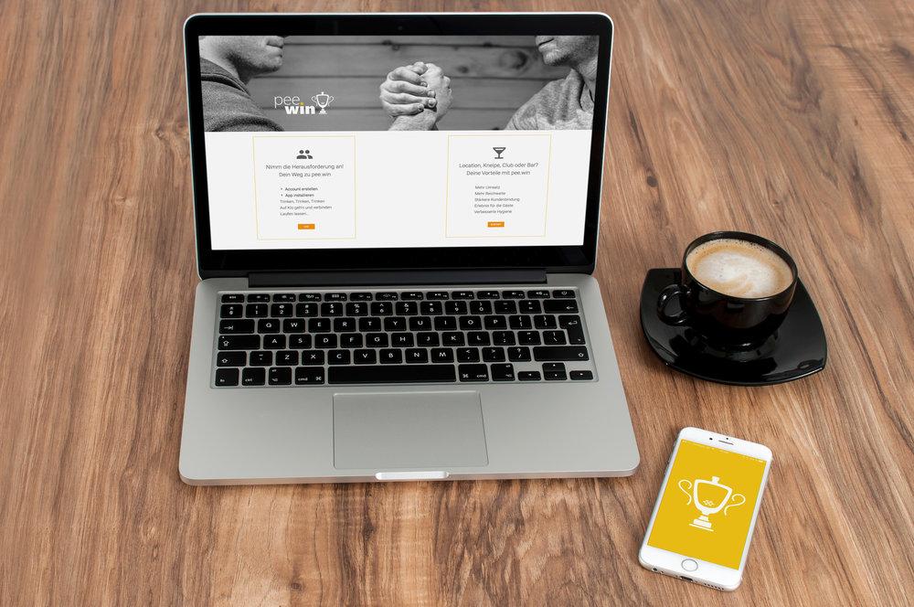 pee.win Registrierung & App Start