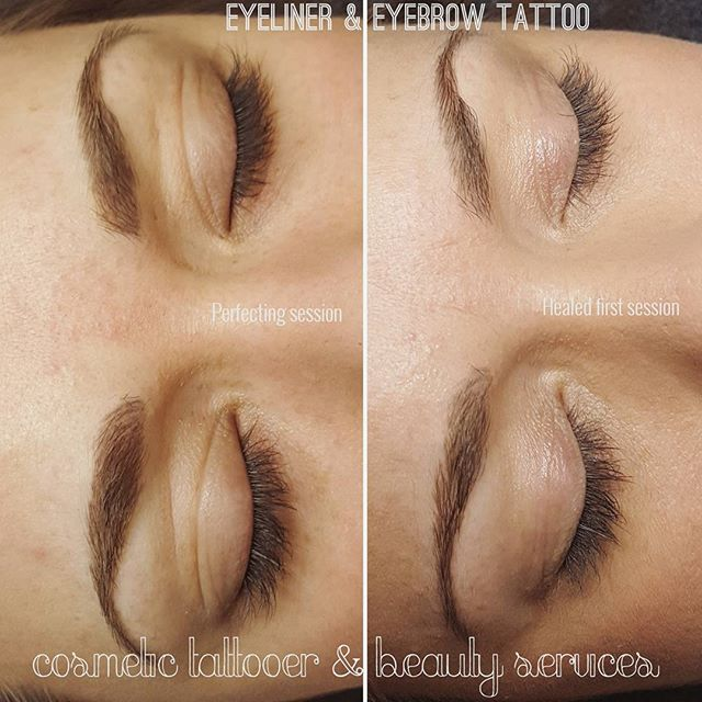 LASH ENHANCEMENT & EYEBROW TATTOOING.  Combination of Powderbrow & Feathertouch effect. Eyeliner done with @lipigmentsaustralia . . . #reneecosmetictattooer #finelinetattoosmelbourne #teamfineline #lashenhancement #eyeliner #eyelinertattoo #eyetattoo #ink #inked #eyebrowtattoo #feathertouchbrows #feathertouch #powderbrow #ombrebrow #perfectbrows #browsonpoint#cosmetictattoo #permanentmakeup #pmu #richmond #foster #taylorslakes