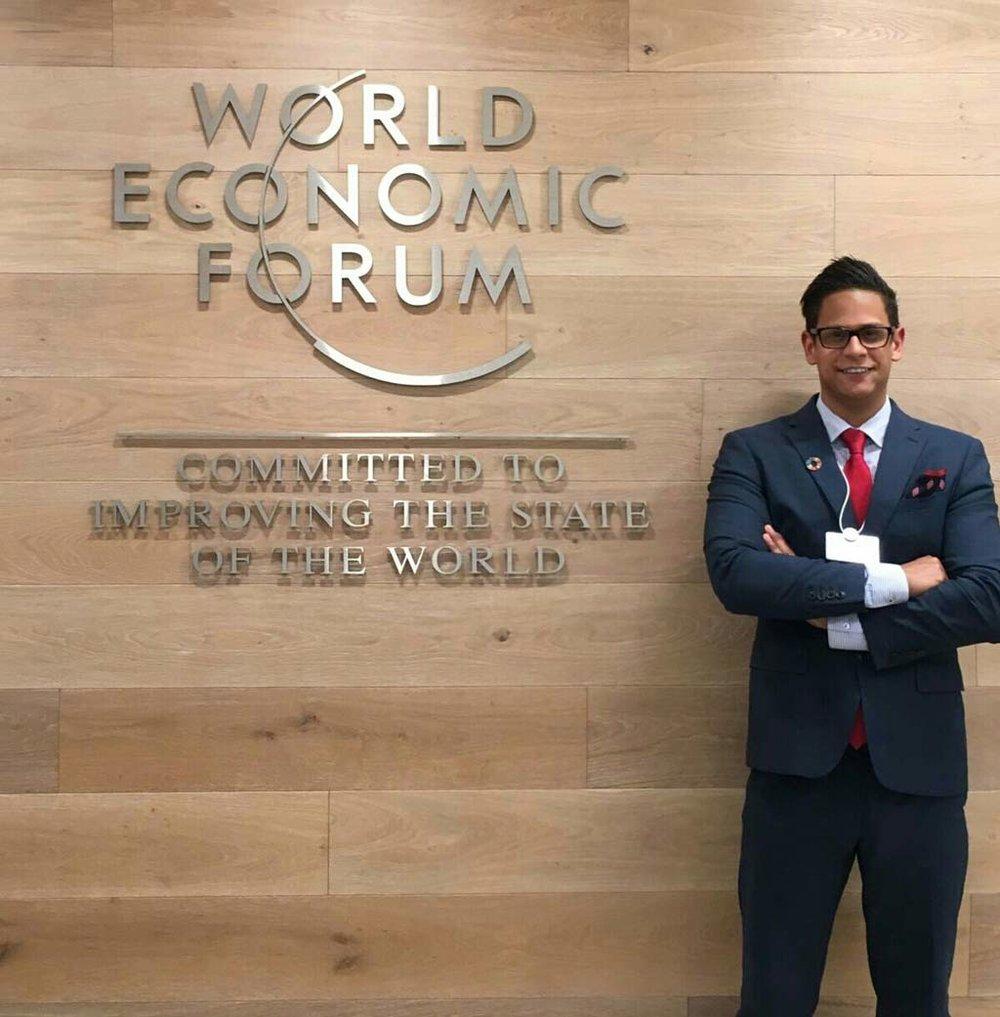 World Economic Forum in New York City