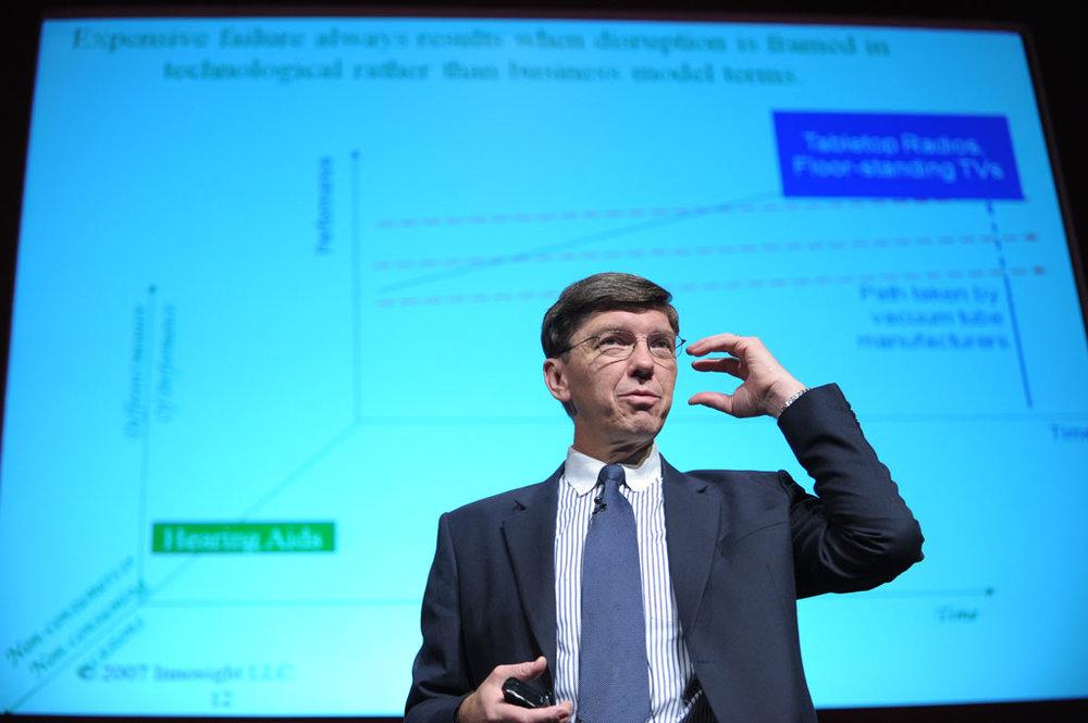 Professor Clayton Christensen
