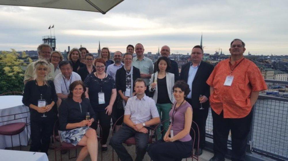 Meeting of the Voluntas board, Stockholm, Sweden, 2016.