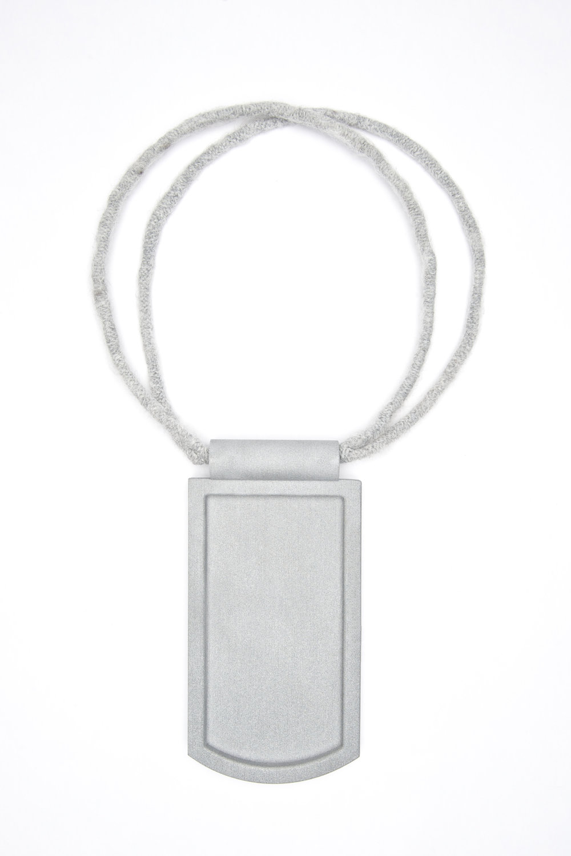 Neckpiece: Pickup04 aluminium, polyamide, wool, steel image: Ian Segal