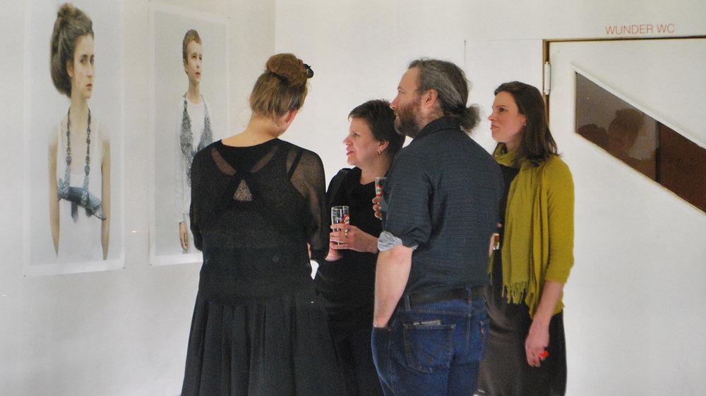 Opening exhibition Hanna Hedman & Sanna Lindberg: Bar Nadar,Ernest van Dijckkaai 19-20, 2000 Antwerp