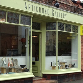 Artichoke Gallery  Church Street, Ticehurst, TN5 7AE.  Wood-fired salt glaze.