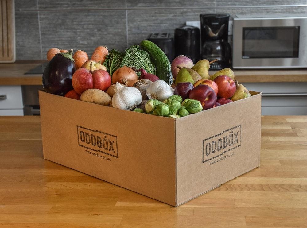 Oddbox - Wonky veg box