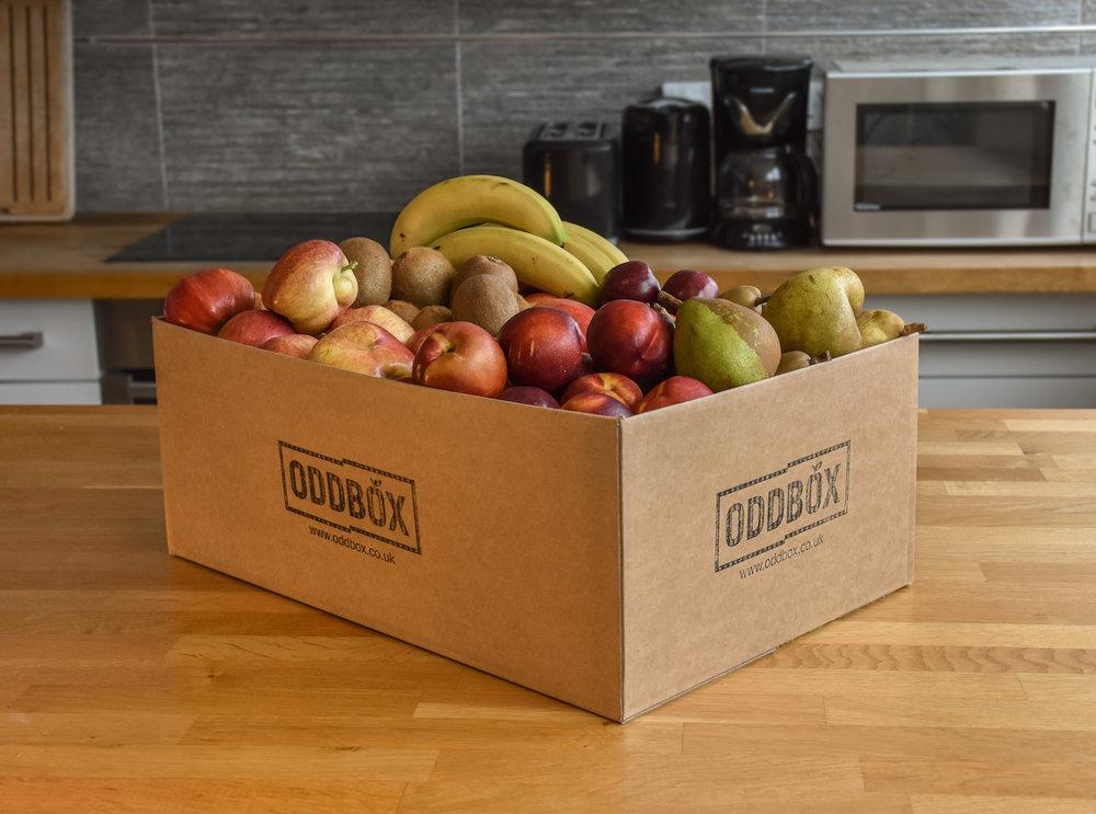 Oddbox - Wonky fruit box