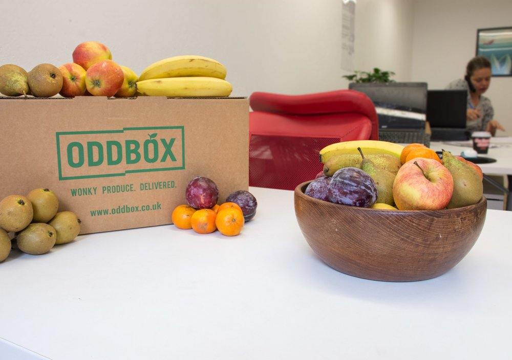 Oddbox - Wonky fruit box