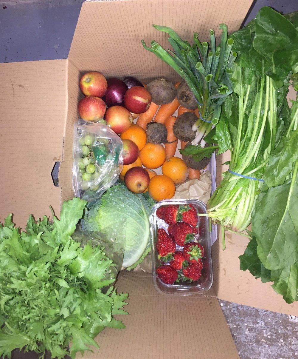 Large Fruit & Veg