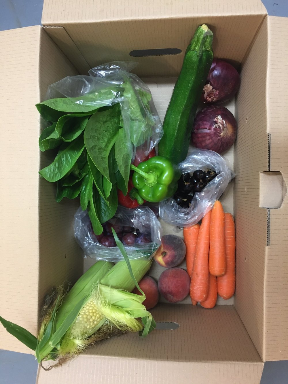 Small Fruit & Veg box