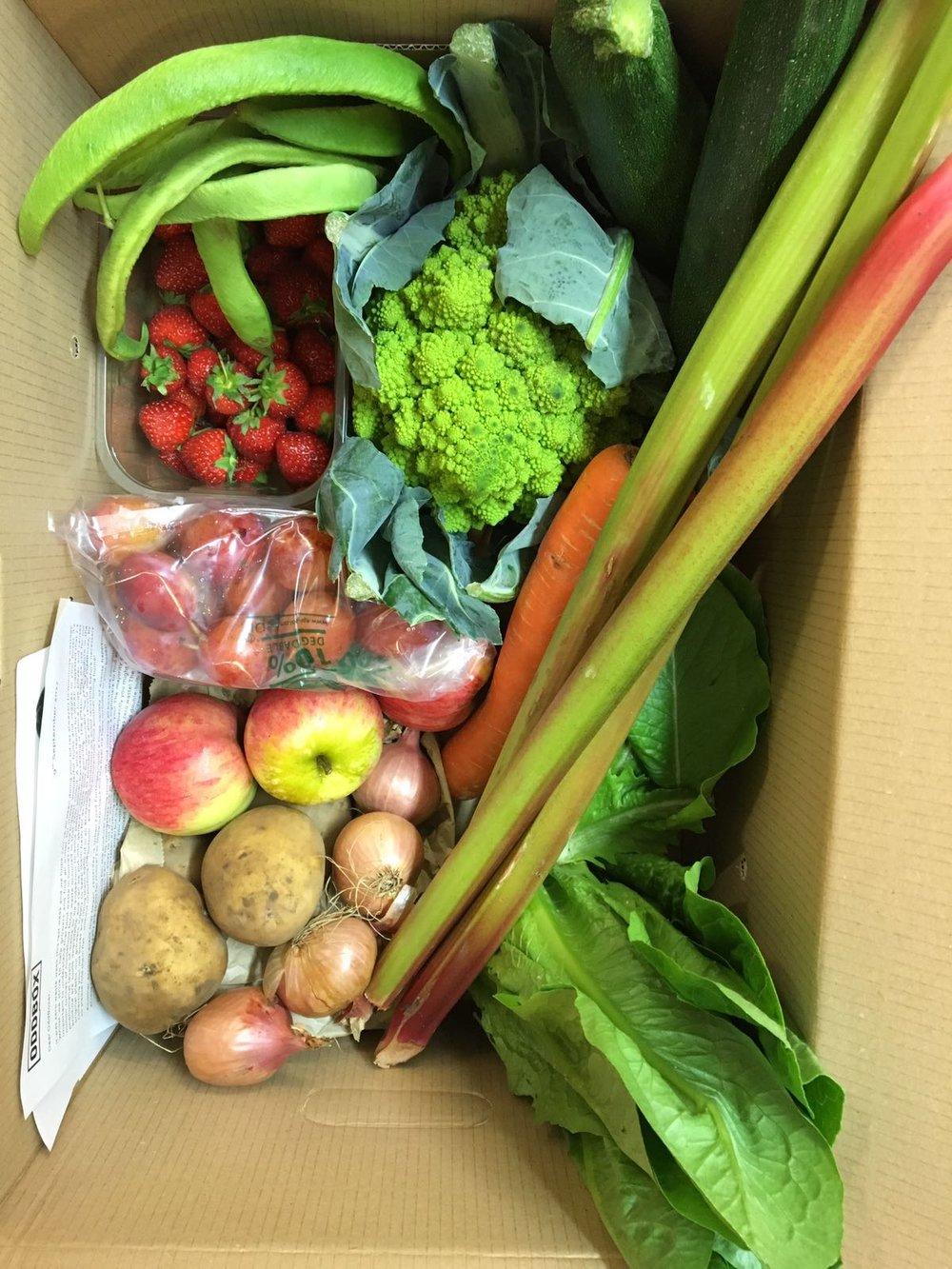 Medium Fruit & Veg box