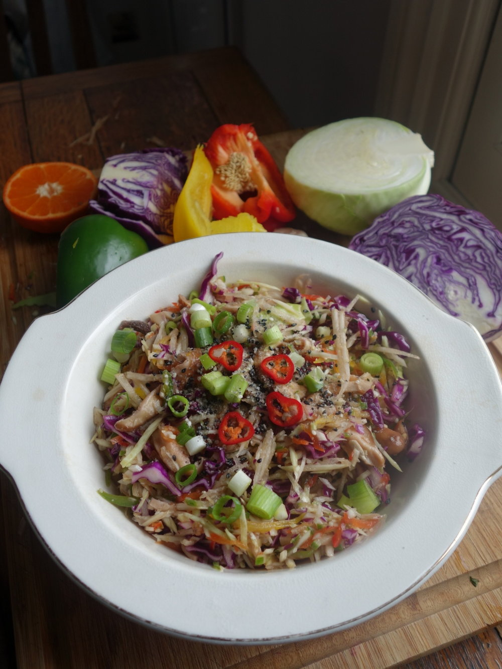 VEGAN ASIAN SLAW -