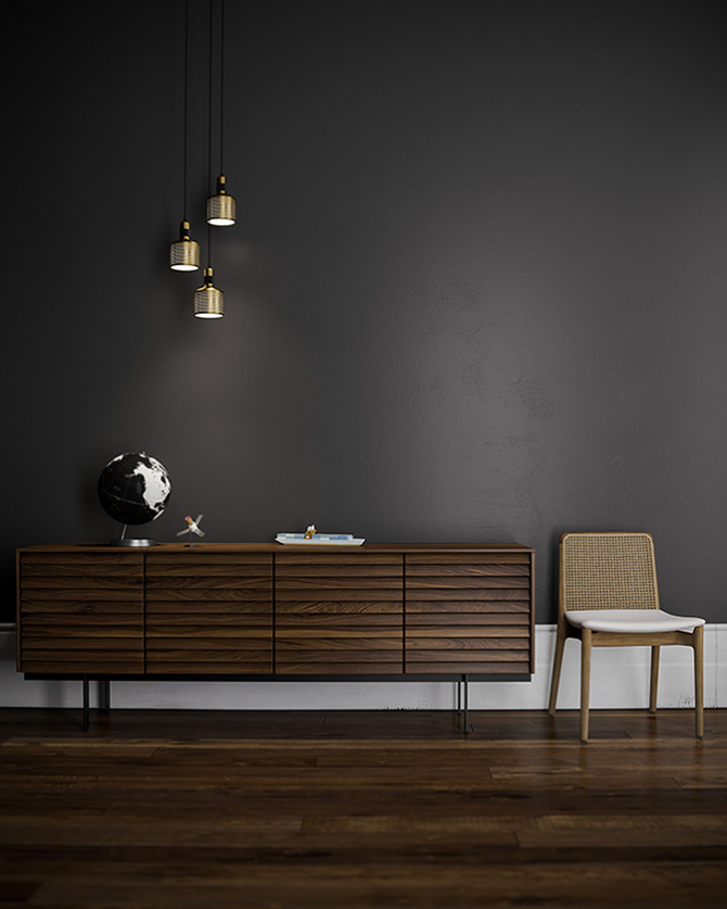 A test image I created when researching Corona render engine for 3DSMAX. Love the quality of lighting it can produce!