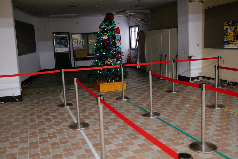 This felt like the loneliest Christmas tree I've in Japan so far.