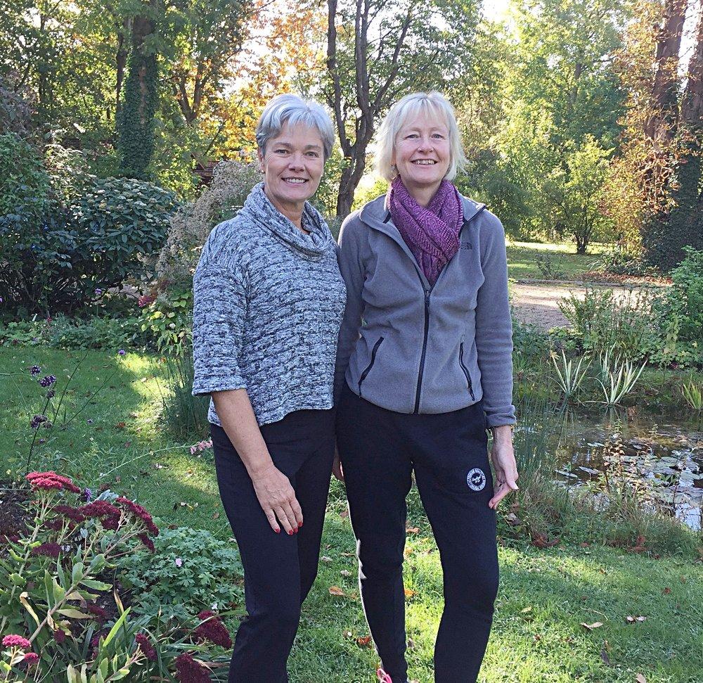 Viv Ward and Sue Dorrell are both experienced teachers -