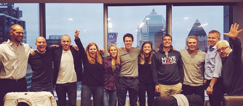 Fem startuper fra Norge deltok på programmet!