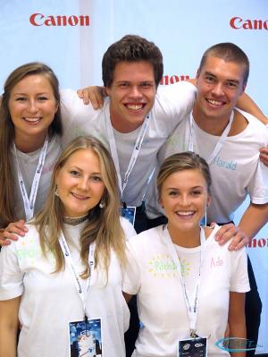 Vinnerlaget fra Gründerjakten 2016. Øverst fra venstre: Karianne, Eirik, Harald, Alvilde og Ada